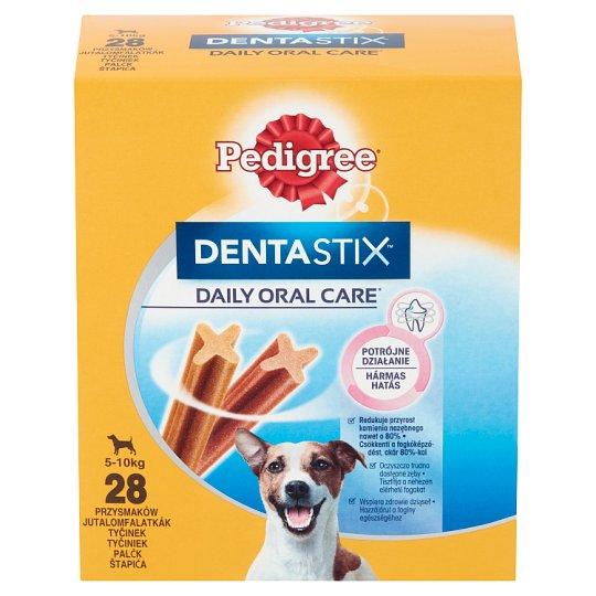 Pedigree DentaStix kiegészítő állateledel 5-10 kg-os, 4 hónapnál idősebb kutyáknak 28 db 440 g