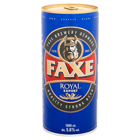 Faxe Royal Beer 5,6% 1000 ml