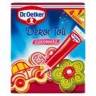 Dr. Oetker Dekor Toll cukormáz 4 színben 4 db 76 g