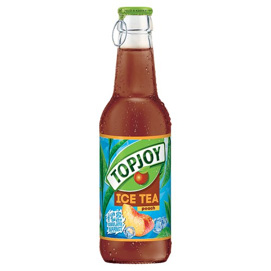 Topjoy Peach Flavored Soft Drink with Black Tea Extract 250 ml