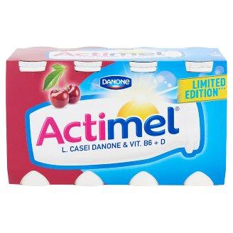 Danone Actimel zsírszegény, élőflórás, meggy-acerolaízű joghurtital 8 x 100 g