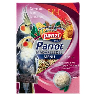 Pazni Bird Pet Food for Large Parrots 700 ml