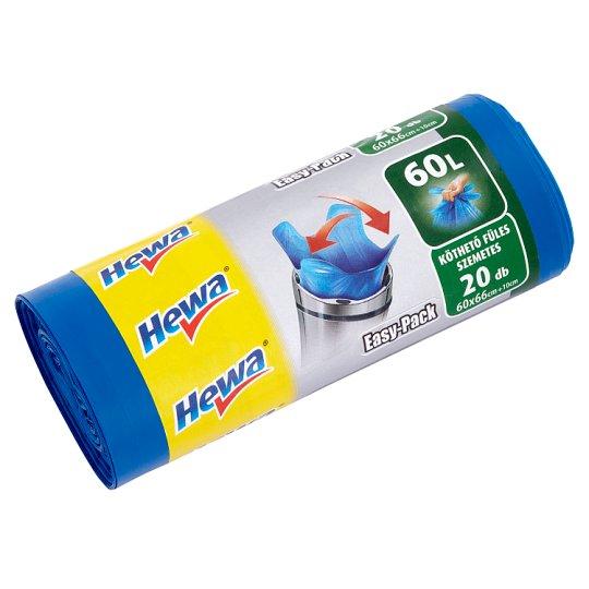 Hewa Easy Pack 60 l-es szemeteszsák 20 db