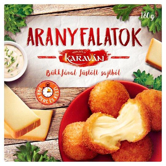 Karaván ARANYFALATOK bükkfával füstölt sajtból 180 g
