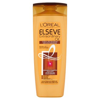 L'Oréal Paris Elseve Extraordinary Oil Nourishing Shampoo for Dry, Extra Dry, Rough Hair 400 ml