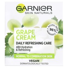 image 1 of Garnier Skin Naturals Botanical Hydrating Cream with Grape Extract for Normal Skin 50 ml