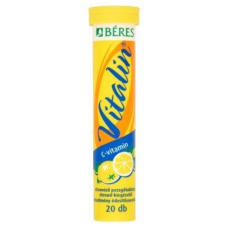 Béres Vitalin Vitamin C Effervescent Tablets 20 pcs 80 g