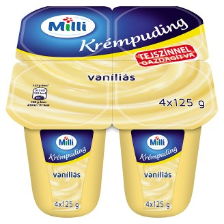 Milli Vanilla Flavoured Cream Pudding 500 g