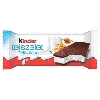 Kinder Tejszelet Sponge Cake with a Milky Filling 28 g