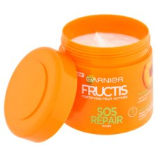 image 2 of Garnier Fructis SOS Repair Fortifying Hair Mask 300 ml