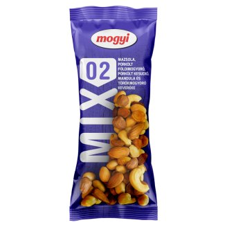 Mogyi Csemege-Mix Roasted Peanut, Raisin, Hazelnut, Almond, Roasted Cashew 100 g