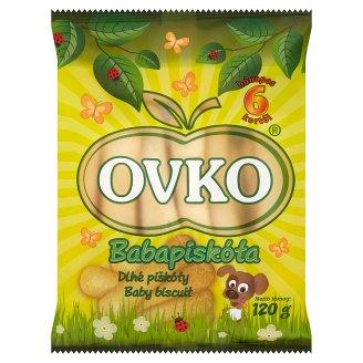 Ovko Baby Biscuit 6+ Months 120 g