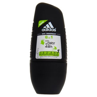 Adidas Cool & Dry 48h 6 in 1 Anti-Perspirant Roll-On for Men 50 ml