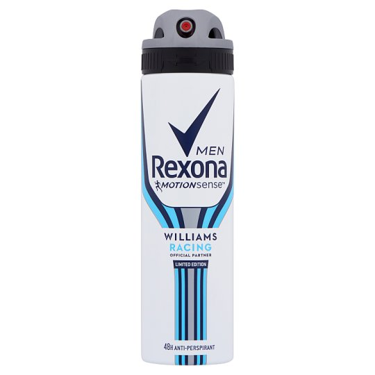Rexona Men Williams Racing Anti-Perspirant Aerosol 150 ml