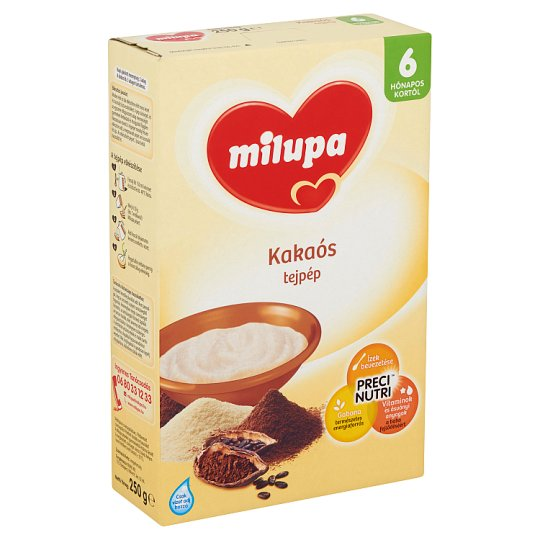 Milupa Milk Pulp with Cocoa 6+ Months 250 g