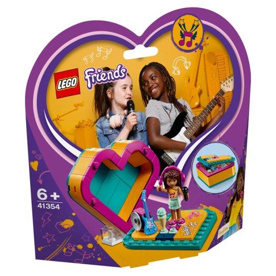 image 1 of LEGO Friends Andrea's Heart Box 41354