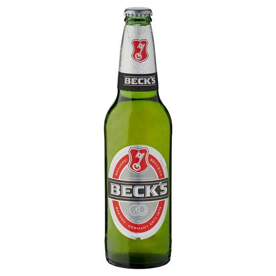 Beck's világos sör 5% 0,5 l