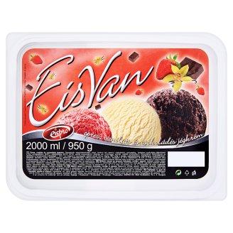 Eispro EisVan epres, vaníliás és csokoládés jégkrém 2000 ml