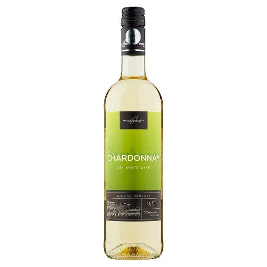 Wine Concept Felső-Magyarországi Chardonnay száraz fehérbor 12% 750 ml