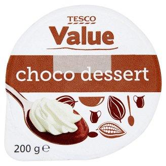 Tesco Value kakaós desszert habbal 200 g