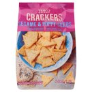 Tesco Crackers with Sesame & Poppy Seeds 200 g
