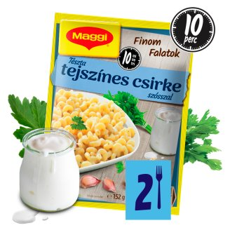 Maggi Finom Falatok Cream and Chicken Flavoured Pasta 152 g