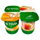 Danone Activia Low-Fat Mango Yoghurt with Grain and Live Cultures 4 x 125 g