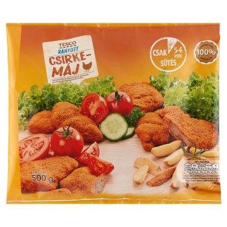 Tesco gyorsfagyasztott rántott csirkemáj 500 g