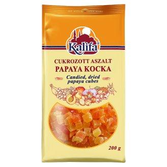 Kalifa cukrozott papaya kocka 200 g