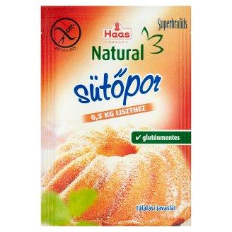 Haas Natural Baking Powder 4 x 12 g
