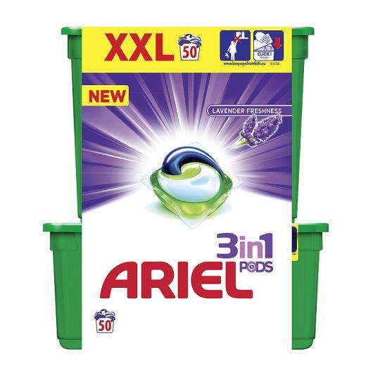 Ariel Lavender Freshness 3az1-ben Mosókapszula, 50 Mosáshoz