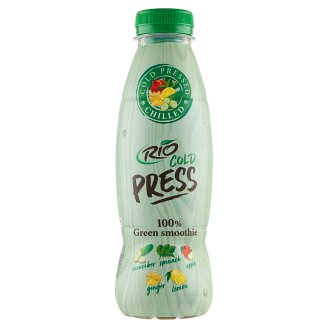 RIO FRESH Green Smoothie Fruit and Vegetable Juice 500 ml