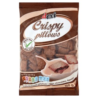 Dexi Gluten-Free Pillows with Chocolate Flavour 150 g