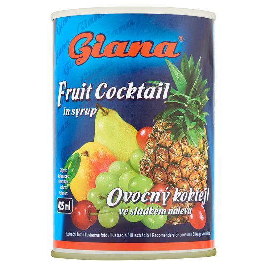 Giana Fruit Cocktail in Syrup 410 g