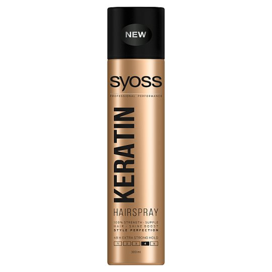 Syoss Keratin Style Perfection Extra Strong Hairspray 300 ml