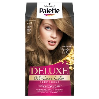 Schwarzkopf Palette Deluxe Intense Cream Hair Colorant 400 Medium Blond