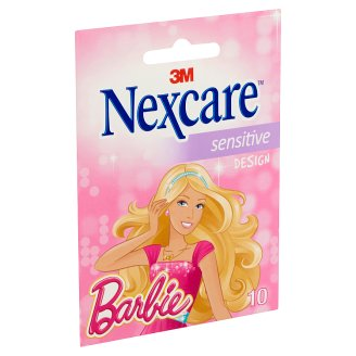 Nexcare Sensitive Barbie Plaster 10 pcs