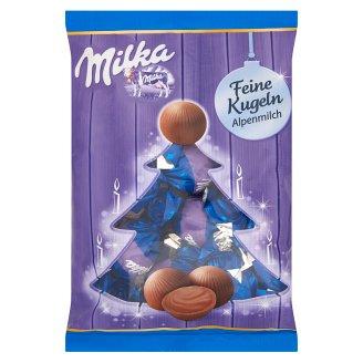 Milka alpesi tejcsokoládé karácsonyi bonbon 90 g