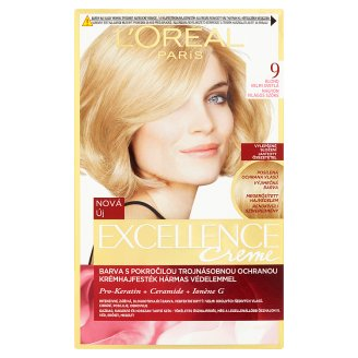 L'Oréal Paris Excellence Crème 9 Very Light Blonde Permanent Hair Colorant