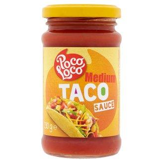 Poco Loco Taco Medium Tomato Sauce with Onion, Green Chili and Jalapeno 230 g