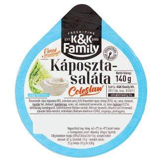 K&K Family káposzta saláta 140 g