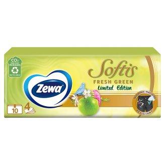 Zewa Softis Tropical Spirit Scented Handkerchiefs 4 Ply 10 x 9 pcs