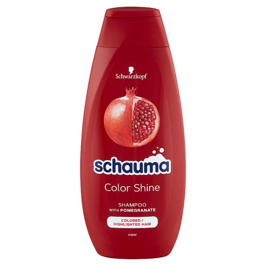 Schauma Color Shine Shampoo for Colored, Tinted or Highlighted Hair 400 ml