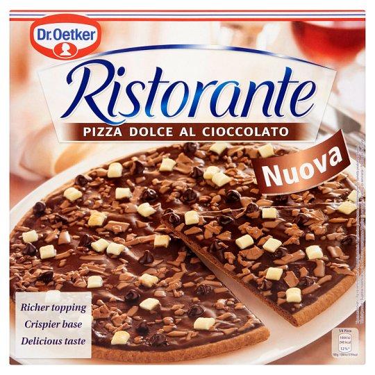Dr. Oetker Ristorante Pizza Dolce Al Cioccolato gyorsfagyasztott háromcsokoládés édes pizza 300 g