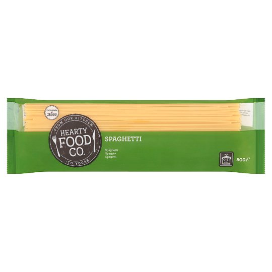 Hearty Food Co. Spaghetti Dry Pasta without Egg 500 g