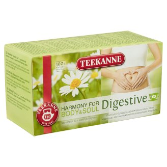 Teekanne Harmony for Body & Soul Digestive Tea Herbal Tea 20 Tea Bags 36 g