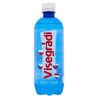 Visegrádi Carbonated Natural Mineral Water 0,5 l