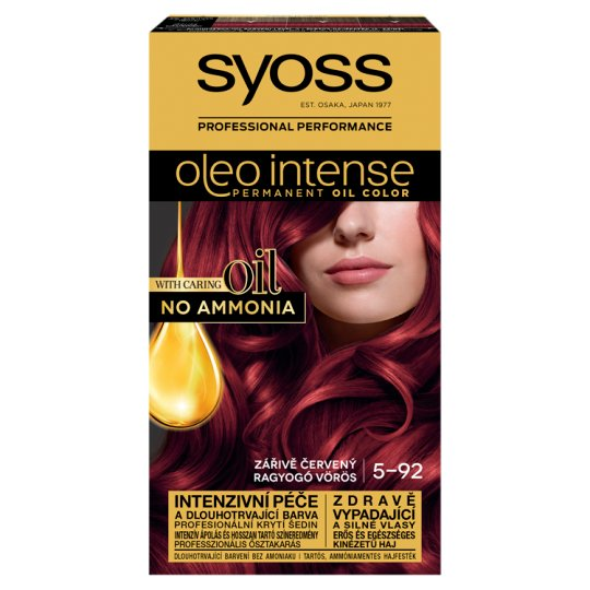 Syoss Color Oleo Intense Oil Hair Colorant 5-92 Shiny Red