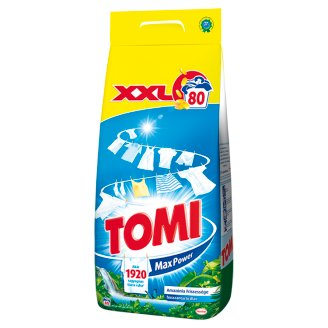 Tomi Max Power Amazonian Freshness Powder Detergent 80 Washes 5,6 kg