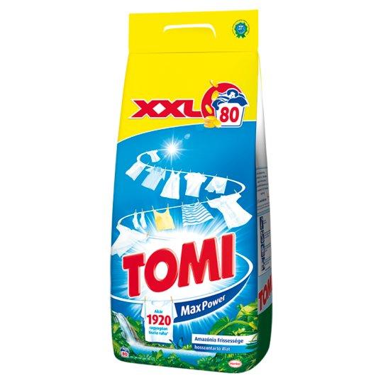 Tomi Max Power Amazonian Freshness Powder Detergent 80 Washes 5,6 kg